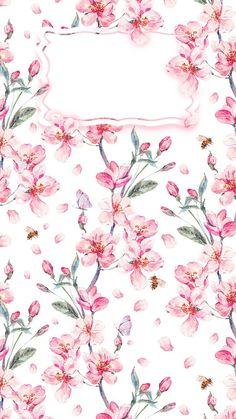 Go Wallpaper, Wallpaper For Your Phone, Cellphone Wallpaper, Flower Wallpaper, Lock Screen Wallpaper, Pattern Wallpaper, Wallpaper Backgrounds, Painting Wallpaper, Tout Rose