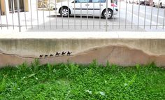 Street Art: Bis zum Hals in der Straßenpfütze – Seite 13 | Lebensart | ZEIT ONLINE