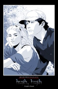 Patch Cipriano and Nora Grey | Hush Hush Portugal: Poster de Nora e Patch!