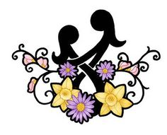 think this is a really cute mother daughter symbol. When your daughter ...