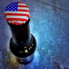 American flag bottle caps arrived and they look amazing. Labels next  #soda #sodajerk #sodalirious #localbusiness #sandiegoevents #sandiego #homemadesoda #craftsoda #crowncap #rootbeer