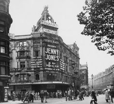 The Hippodrome on Charing X Rd in 1944. The musical Jenny Jones was by Harry Parr Davies, now almost forgotten.