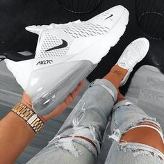 Nike air max 270 Nike air max 270 Related posts: Nike Air Max 270 – Pink Tendance Sneakers Welche Nike Air Max 270 Kollektion Folgen Sie Nike Air Max 270 Triple Weiß – Nike Schuhe – SportStylist Nike Air Max 97 OG – Pink White – Nike Shoes – SportStylist Moda Sneakers, Cheap Sneakers, Cute Sneakers For Women, White Sneakers Nike, Nike Women Sneakers, Yeezy Sneakers, White Nikes, All White Nike Shoes, Off White Shoes
