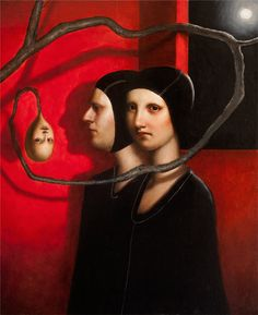 OcéanoMar - Art Site: Alessandro Sicioldr. Tuscania, Italy. Oils on wood.