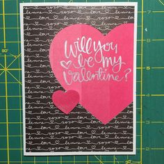 If one could be having a bad card day, then this was it! Dropping stuff, putting things together crooked, cutting crooked... That Delicata ink though #valentine #card #cards #cardmaker #cardmaking #cardmakinghobby #handmadecards #sssck #simonsaysstamp