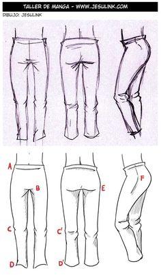 Cómo dibujar ropa y pliegues - Jesulink.com