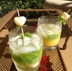 Lychee Mojitos  -- by The Chef in Me
