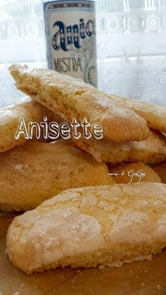 Biscotti anisette (all'anice) ricetta regionale