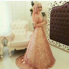 Muslimah Wedding dress