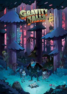 gravity animation An original art print of the Gravity Falls cast ( inches) on gloss Gravity Falls Dipper, Gravity Falls Cast, Gravity Falls Poster, Gravity Falls Bill Cipher, Gravity Falls Comics, Monster Falls, Gravity Falls Characters, Fall Tumblr, Gavity Falls