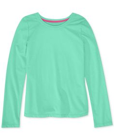 Epic Threads Girls' Solid Basic Long-Sleeve Tee