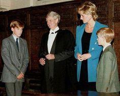 William rentre à Eton _ 06 septembre 1995