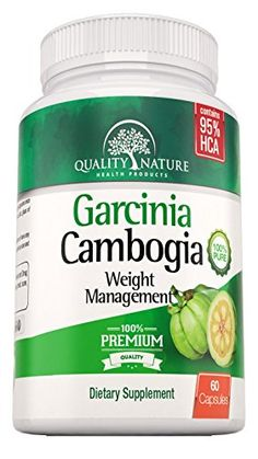 95% HCA, Pure Garcinia Cambogia Extract (Extra Strength) Natural Weight Loss Supplement - Carb Blocker and Appetite Suppressant - All Natural Diet Pills For Men and Women, Offered By Quality Nature * Read more reviews of the product by visiting the link on the image.