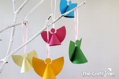 paper angel ornaments