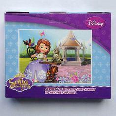 Servieta cu puzzle Sofia Disney, Puzzles, Frame, Decor, Character, Picture Frame, Decoration, Puzzle, Decorating