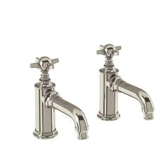 Taps | Arcade Basin Pillar Taps - Nickel