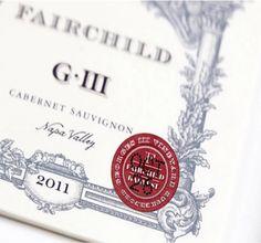 Fairchild Wine Label Illustrated by Steven Noble on Behance