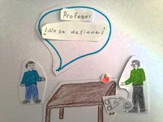 """""""Mi programa"""" Ejercicio de creación de vídeo-cómic propuesto como actividad por de Puerta Joven (México) durante el MOOC Artes y tecnologías para educar. Neon Signs, Exercise, Tecnologia, Activities"""