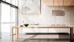 Hotte Design, Double Vanity, Dining Table, Diffusion, Furniture, Hoods, Kitchens, Home Decor, I Want You