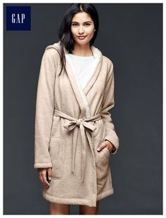 Sherpa robe, either color, size xs/s. Or any cozy bathrobe!
