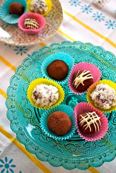 These Kahlua truffles are a perfect addition to your next holiday cocktail hour!