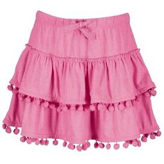 Young Original Girls' Pom Pom Skirt #Shoproads #onlineshopping #Frocks & Skirts