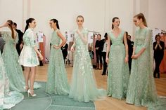 Fancy - {this is glamorous} : adventures in love, design, fashion, home decor, food & travel: {places : backstage at elie saab}