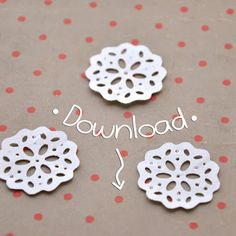 Mini Doily SVG Silhouette Cameo Freebies, Silhouette Cameo Tutorials, Silhouette Projects, Craft Robo, Stencils, Silhouette Portrait, Silhouette Machine, Card Tags, Cards
