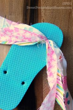 Flip Flops – DIY Fabric Flip Flops