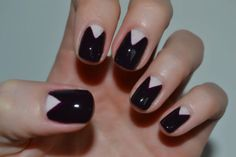 deborah lippmann nail art, swatch review, snow white and the huntsman, half moon manicure