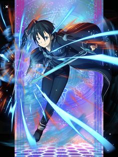 Kirito is my favourite actor and my fan Kirito is my hero in Sword Art Online Alicization Kirito Sao, Kirito Kirigaya, Sword Art Online Asuna, Wallpapers Games, Animes Wallpapers, Anime Naruto, Manga Anime, Online Anime, Online Art
