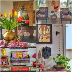 Pinkz Passion : Whimsically Ethnic (Home Tour of Poornima Murthy) Part Indian Inspired Decor, Seattle Homes, Black And White Frames, Design Process, Decoration, House Colors, Old Houses, Vibrant Colors, Beautiful Homes