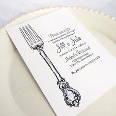 Printable Wedding Rehearsal Dinner Invitation by EdenWeddingStudio, $20.00