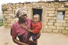 Destitute mother and malnourished child Free State, South Africa, Colour, Children, Color, Young Children, Boys, Kids, Colors