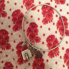 Alex and ANI bracelet graduation cap 2014 😇 Selling my used Alex and ANI grad cap 2014 bracelet! 💕 Alex & Ani Jewelry Bracelets