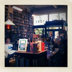 Name: Bell's Books  Location: Palo Alto, CA  Website: http://www.bellsbooks.com  Opened in 1953  Bell's Books is a beautiful used bookstore in downtown Palo Alto. It has shelves of books stacked all the way up to the high ceilings, a collection of rare books, and creaky wooden floors. The window displays are seasonal and wonderfully creative.