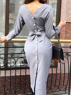 Dress Bodycon Outfit Fall Ideas For 2019 Black Women Fashion, Look Fashion, Trendy Fashion, Autumn Fashion, Womens Fashion, Fashion Design, Fashion Ideas, Ladies Fashion, Feminine Fashion