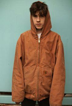Brown jacket. Declan mckenna