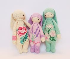 RITA the rabbit made by Maria A. / crochet pattern by lalylala