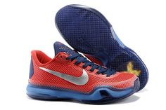 buy popular a4a4a 30f15 2015 Nikes Zoom Kobe X (10) EM XDR men basketball shoes red navy white