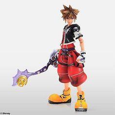 2017 Square Enix Kingdom Hearts II Play Arts Sora Limit Form Action Figure for sale online Kingdom Hearts Collection, Kingdom Hearts Ii, Best Action Figures, Heart Type, Gears Of War, Japan News, Sora, Call Of Duty, Disney Characters