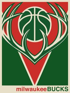 NBA Minimalist Posters on Behance Logo Basketball, Basketball Design, Minimalist Poster, Minimalist Art, Giannis Antetokounmpo Wallpaper, Bucks Logo, Nba Pictures, Milwaukee Bucks, Sports Wallpapers