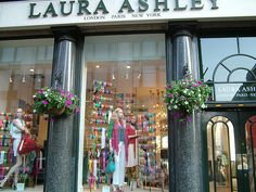 Laura Ashley, London. Once I bought two lovely,romantic shirts there and cannot throw them away even though they are now too small for me