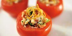 Plněná rajčata alla Podravka. Recepty — Podravka   S Podravkou chutná lépe