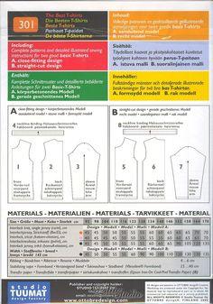 Časopis Ottobre | Samostatné střihy | Střih Ottobre 301 - dětské triko vel. 92-170 | PattiStudio