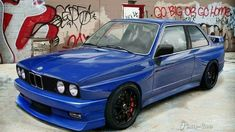 BMW E30 3 series blue Bmw Sport, Sport Cars, Race Cars, E21, Aston Martin, Subaru, Volvo, Psa Peugeot, Bmw Performance