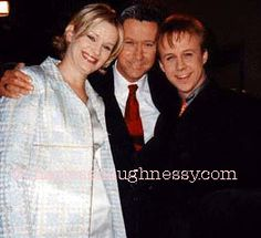 Charles Shaughnessy, Nicholle Tom & Benjamin Salisbury from my private collection Maxwell Sheffield, Maggie Sheffield & Brighton Sheffield #TheNanny