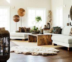 Hout, wol, metaal, kant en katoen. Dit najaar is het toegelaten om je interieur om te toveren tot een pareltje van texturen.