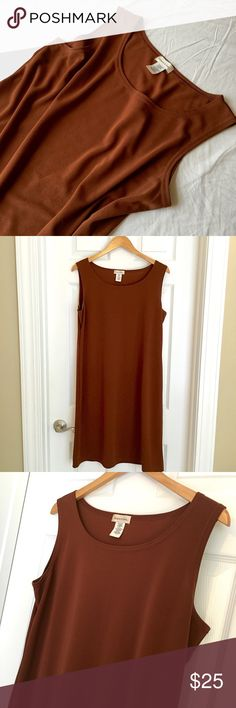 Selling this Vintage Boutique Rust Shift Dress on Poshmark! My username is: carrieburke. #shopmycloset #poshmark #fashion #shopping #style #forsale #Monroe & Main #Dresses & Skirts