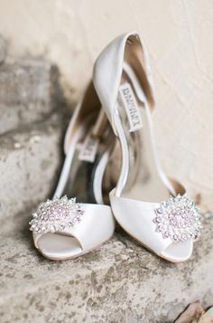 Wedding shoes idea; Featured Photographer: Brianna Wilbur Photography
